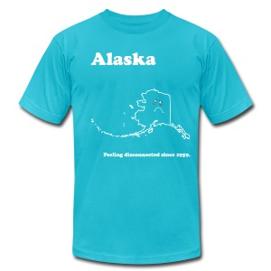 Alaska - Feeling Disconnected - Men's T-Shirt by American Apparel