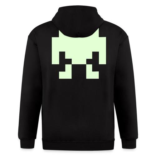 robot hoodie - Men's Zip Hoodie