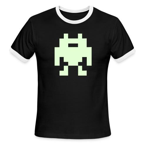 robot - Men's Ringer T-Shirt