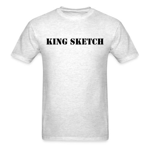 KING SKETCH - Men's T-Shirt