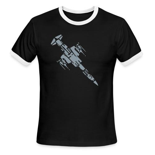 sky rockets in flight - Men's Ringer T-Shirt