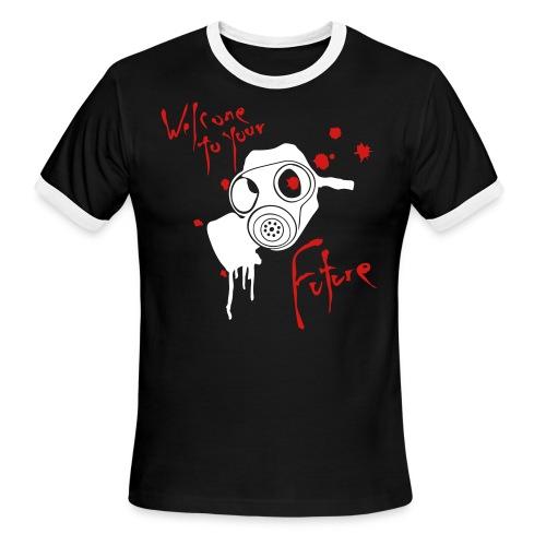 gasmask - Men's Ringer T-Shirt