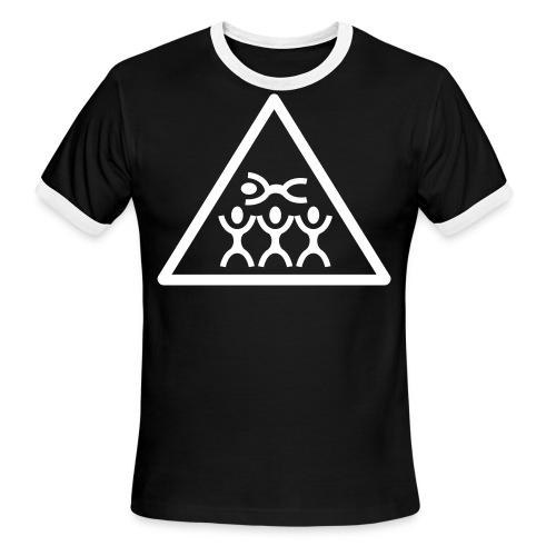 croud surfing - Men's Ringer T-Shirt