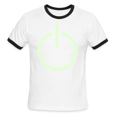 on/off - Men's Ringer T-Shirt