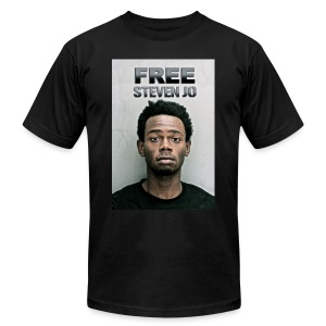 FREE Steven Jo - Men's T-Shirt by American Apparel