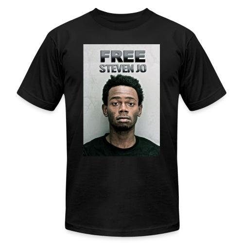 FREE Steven Jo - Men's Fine Jersey T-Shirt