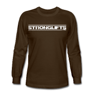 Long Sleeve Shirts ~ Men's Long Sleeve T-Shirt ~ StrongLifts
