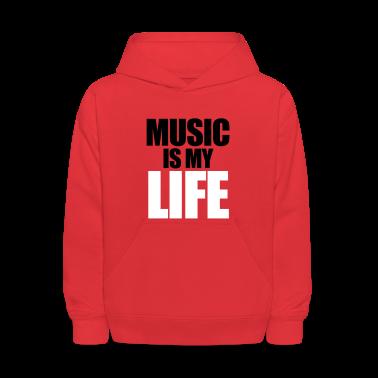 Music Is My Life Sweatshirts