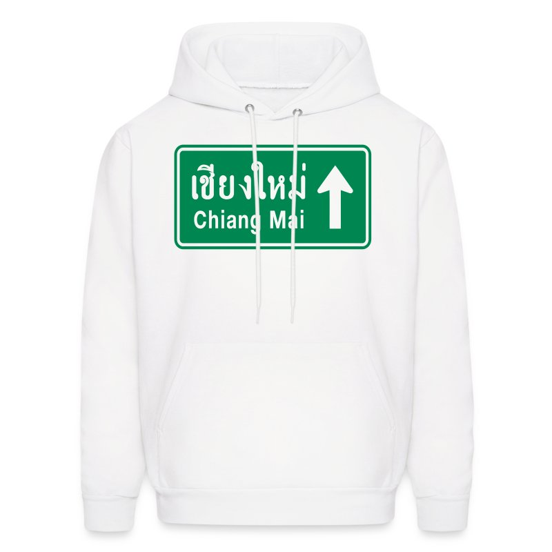 Chiang Mai, Thailand / Highway Road Traffic Sign - Men's Hoodie