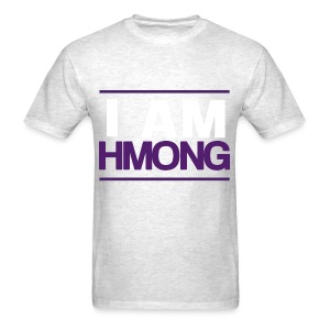 I Am Hmong (Purple) - Men's T-Shirt