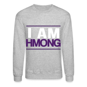I Am Hmong (Purple) - Crewneck Sweatshirt