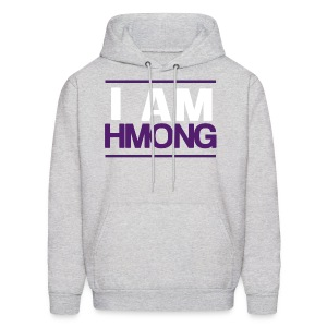 I Am Hmong (Purple) - Men's Hoodie