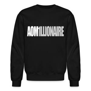 Jay Park - AOM1LLIONAIRE (Grey) - Crewneck Sweatshirt