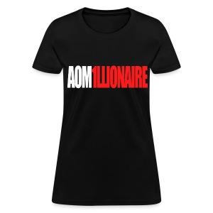 Jay Park - AOM1LLIONAIRE (Red) - Women's T-Shirt