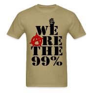 T-Shirts ~ Men's T-Shirt ~ The 99%