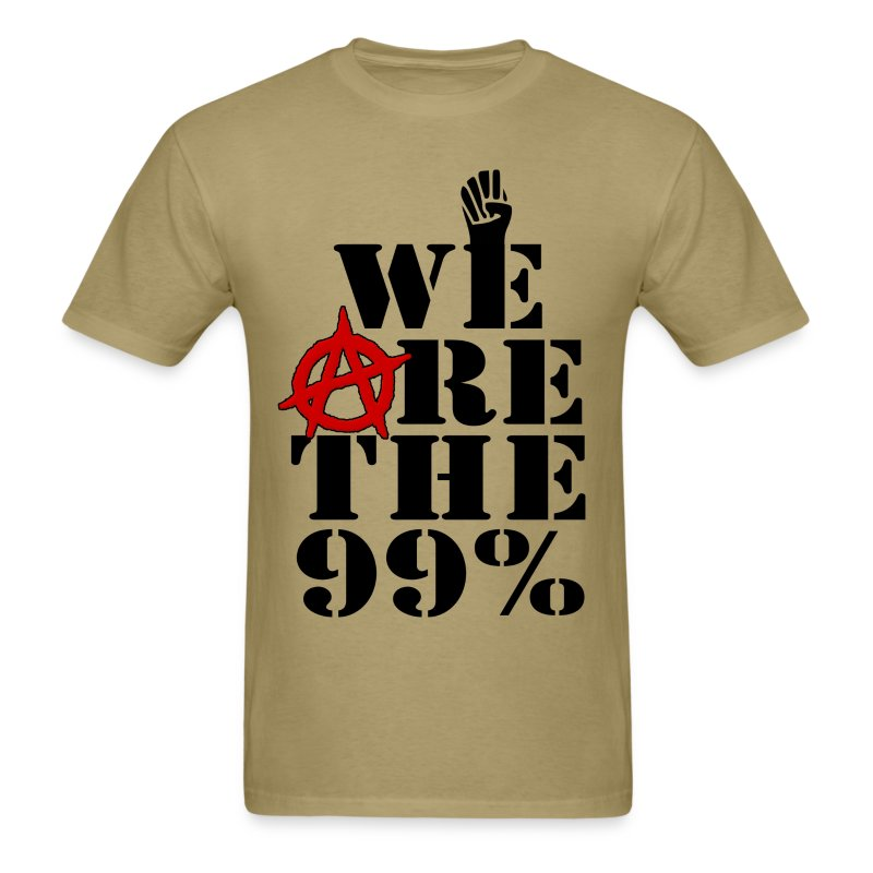 The 99% - Men's T-Shirt