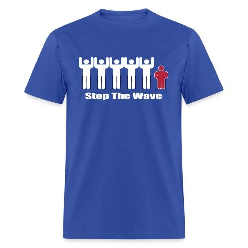 Men's Stop The Wave Logo T-Shirt - Men's T-Shirt