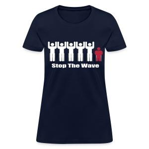 Women's Stop The Wave Logo Shirt - Women's T-Shirt