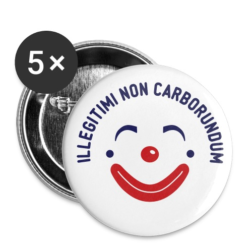 Happy Clown Buttons - Large Buttons