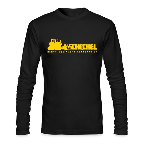 JJ Scheckel Dozing Logo - Men's Long Sleeve T-Shirt by Next Level