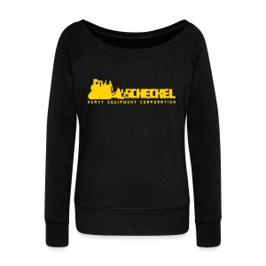 JJ Scheckel Dozing Logo - Women's Wideneck Sweatshirt
