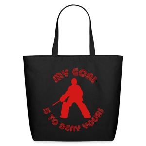 My Goal Is To Deny Yours Cotton Tote - Eco-Friendly Cotton Tote