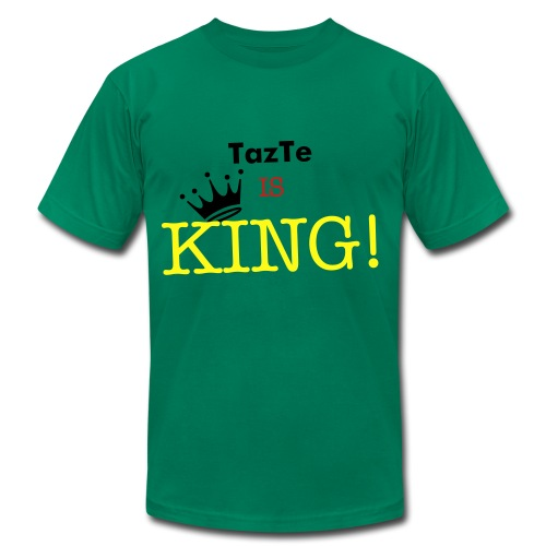 TazTe IS KING! - Men's  Jersey T-Shirt