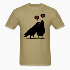 Kiss me Doves - Two Valentine Birds_2c T-Shirts