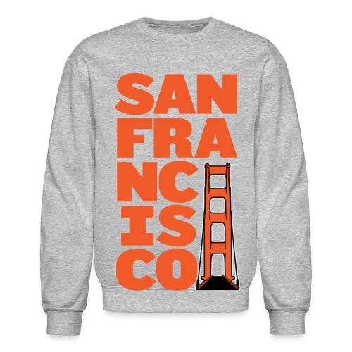 SF Crewneck Gray - Crewneck Sweatshirt