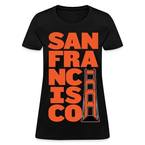 SF Women's Black - Women's T-Shirt