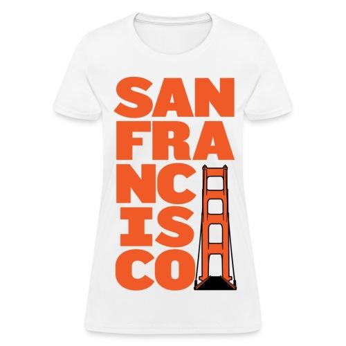 SF Women's White - Women's T-Shirt