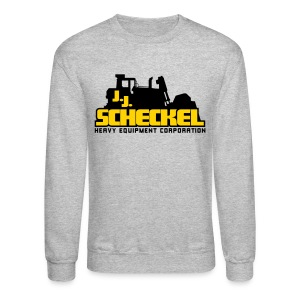 JJ Scheckel Stacked Logo - Crewneck Sweatshirt