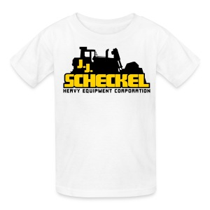 JJ Scheckel Stacked Logo - Kids' T-Shirt