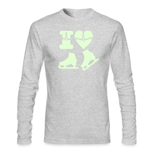 i love winter sports - Men's Long Sleeve T-Shirt by Next Level
