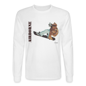 Snowboarder - Airborne - Men's Long Sleeve T-Shirt