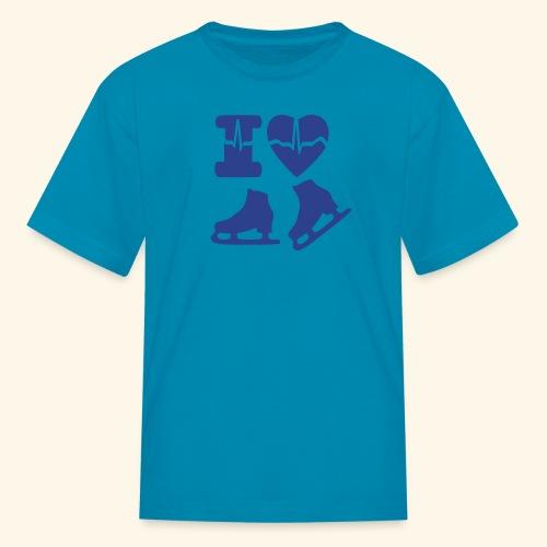 i love SKATING - Kids' T-Shirt