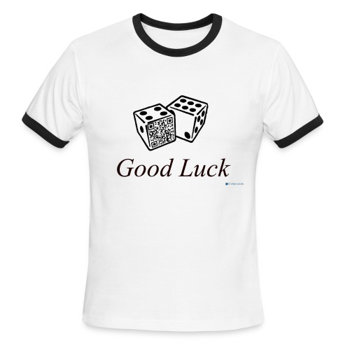 Blow Me for Good Luck (Interactive) - Men's Ringer T-Shirt