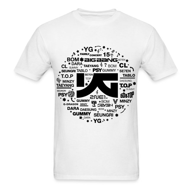 YG Family Concert (Black) | Men's T-Shirt