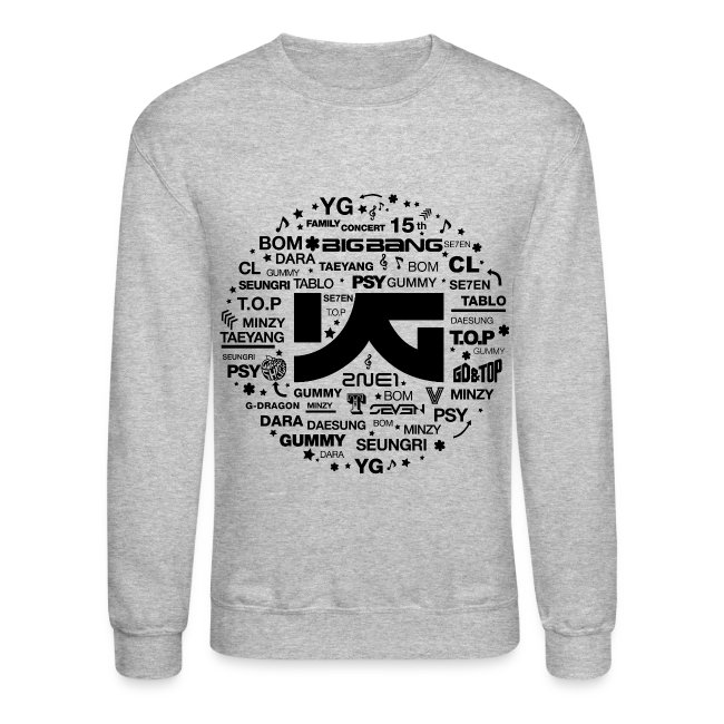 YG Family Concert (Black) | Crewneck Sweatshirt