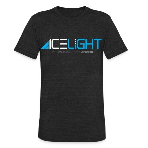 Ice Light - Vintage Mens - Unisex Tri-Blend T-Shirt