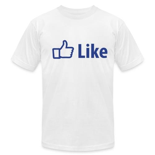 Facebook Like: T-Shirt - Men's Fine Jersey T-Shirt