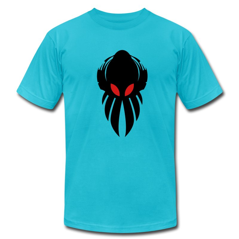Betamorph alien logo shirt  - Men's T-Shirt by American Apparel