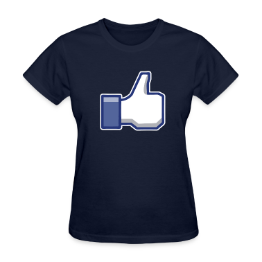 like facebook Women's T-Shirts