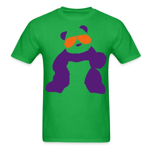 Purple Panda Shades - Men's T-Shirt