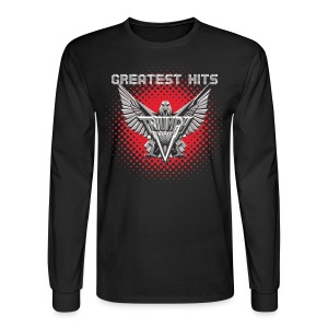 Men's Greatest Hits Long Sleeve Tee - Men's Long Sleeve T-Shirt