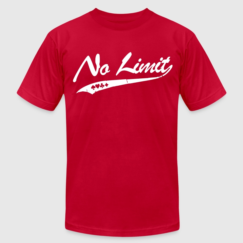 No Limit T-Shirts - Men's T-Shirt by American Apparel