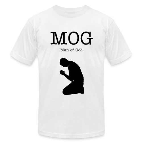 Man of God - Men's Fine Jersey T-Shirt