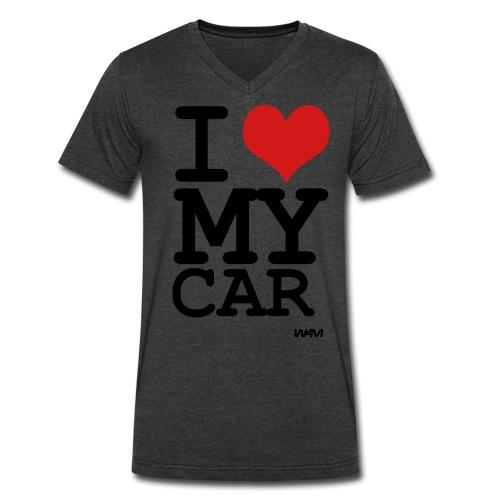 I Love my car: v-neck  - Men's V-Neck T-Shirt by Canvas