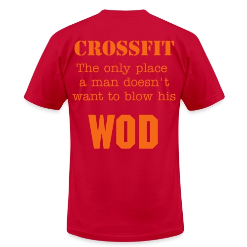 Men's: Don't blow your WOD. - Men's Fine Jersey T-Shirt