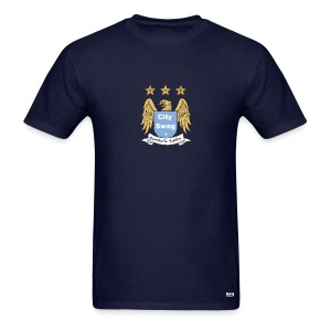 Manchester City Crest - Men's T-Shirt